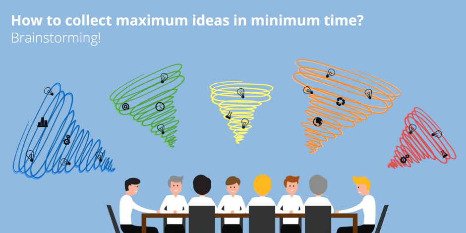 Brainstorming : comment collecter un maximum d'idées en un minimum de temps ?