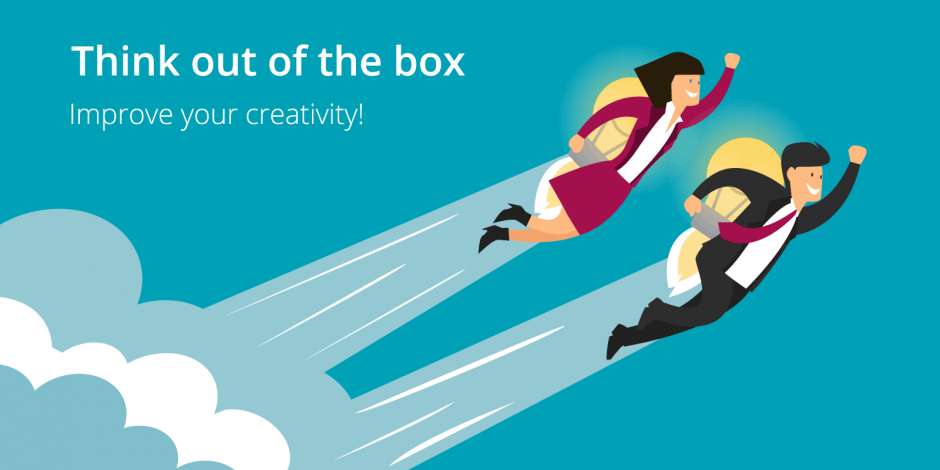 Créativité : Think outside the box !