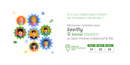 SeeMy Social Ideation au salon Intranet Collaboratif & RSE 2017