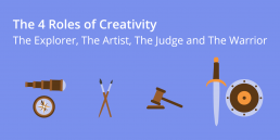 4 roles of creativity