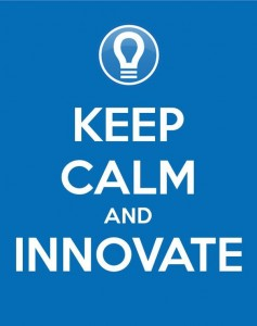 keep calm and innovate